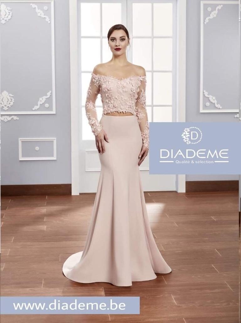 Avondjurken Le Couture.Avondjurken Diademe Laeken