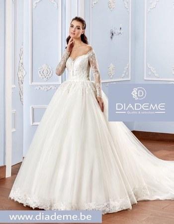 Diadème -robe de mariée 2017